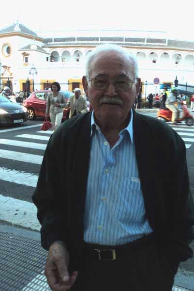 Delmiro Salazar, presidente de otra época bien distinta. (FOTO: Javier Martínez)