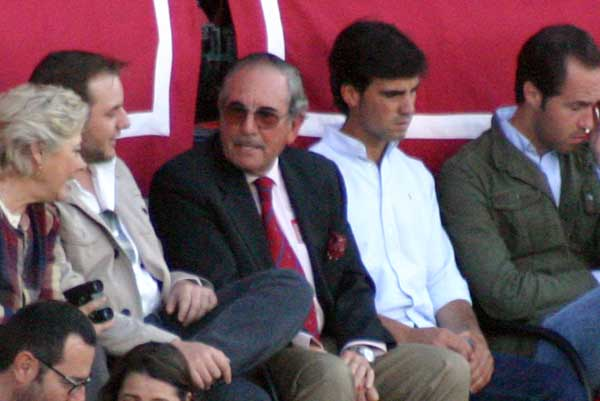Y su hermano, Eduardo Miura. (FOTO: Javier Martínez)