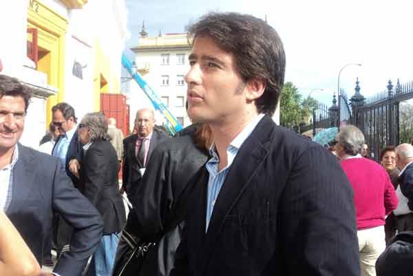 El diestro sevillano Antonio Fernández Pineda. (FOTO: Javier Martínez)