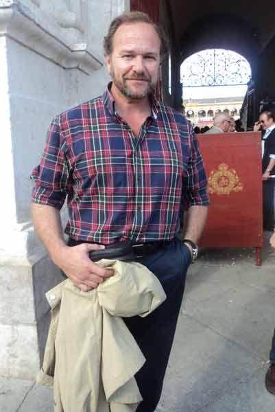 García-Palacios, ganadero de Concha y Sierra. (FOTO: Javier Martínez)