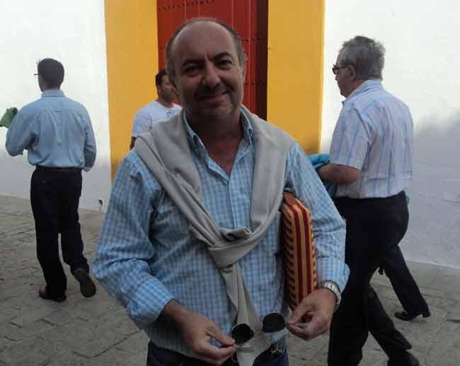 El compañero Juan Belmonte. (FOTO: Javier Martínez)