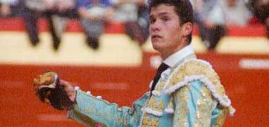 Daniel Luque, esta tarde en Castellón. (FOTO: Prime Time Comunicación)