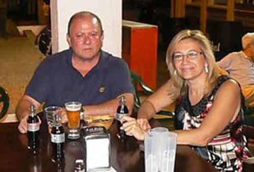La amistad entre Julián Salguero y Carmen Tovar viene de largo. (FOTO: Ayto. Castilleja)
