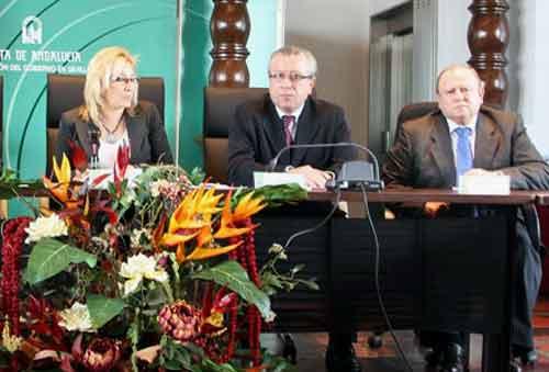 Ya como delegada de la Junta, Carmen Tovar lo nombra presidente para la Maestranza.