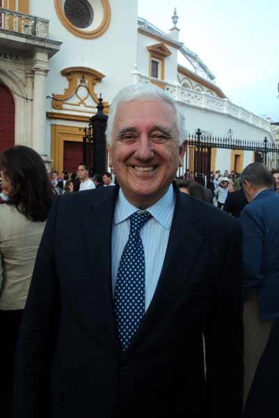 El presidente de los empresarios andaluces, Santiago Herrero. (FOTO: Javier Martínez)