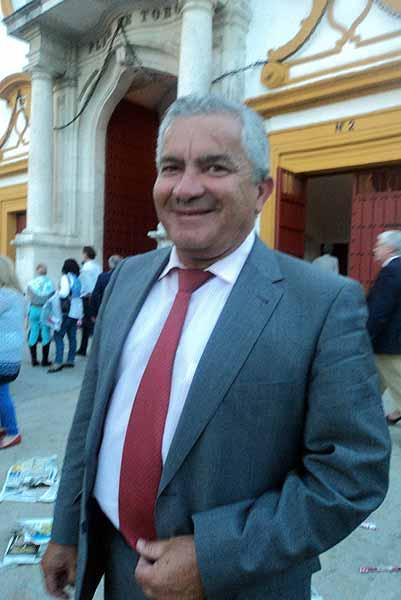 El estilista torero José Luis Galloso, de El Puerto de Santa María. (FOTO: Javier Martínez)