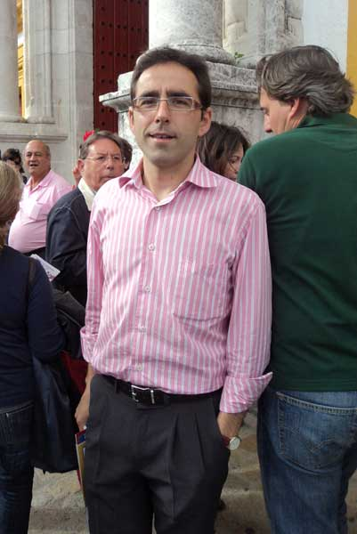El periodista extremeño Juan Carlos Gil. (FOTO: Javier Martínez)
