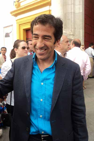 El diestro Juan Mora, que torea mañana. (FOTO: Javier Martínez)