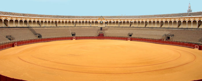 Plaza de toros de Sevilla.