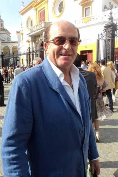 José Luis del Serranito, un excelente aficionado sevillano. (FOTO: Javier Martínez)