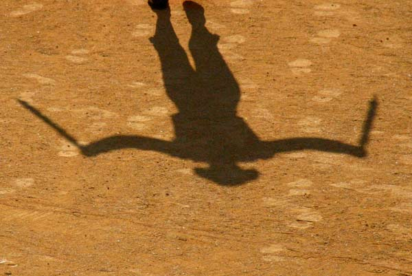 La sombra de Montoliú sobre el abero sevillano, representada por su hijo. (FOTO: Javier Martínez)