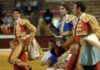 Talavante, Castella y Ponce, en la salida a hombros en Osuna. (FOTO: Eduardo Porcuna)