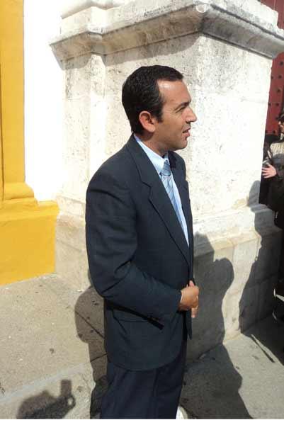 El diestro sevillano Domingo Valderrama. (FOTO: Javier Martónez)