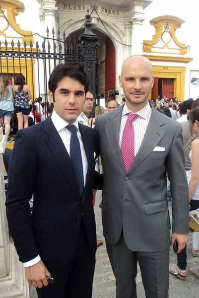 Salvador Vega y José Luis Peralta. (FOTO: Javier Martínez)