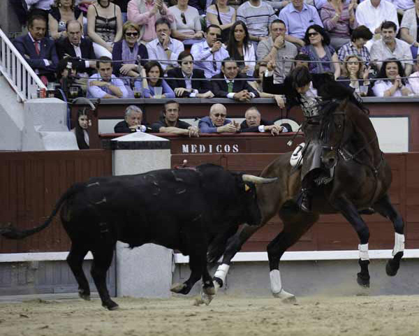 Diego Ventura en Las Ventas. (FOTO: Carlos Núñez)