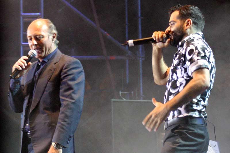 José manuel Soto y Junior, dos mundos distintos unidos.