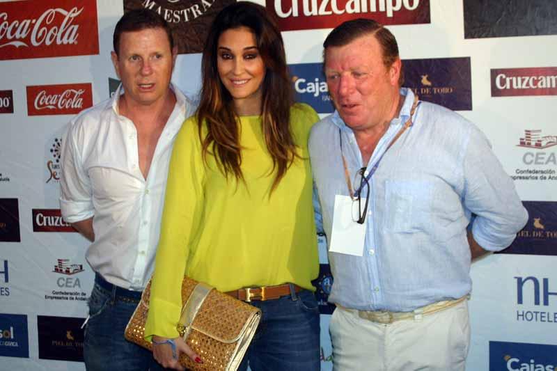 Jorge Cadaval, Vicky Martín Berrocal y César Cadaval.