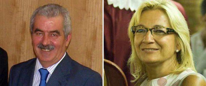 Luis Partida, director general de Espectáculos de la Junta, y la polémica delegada de la Junta en Sevilla, Carmen Tovar.