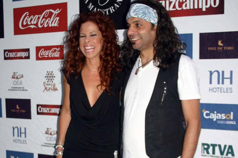 Los cantantes andaluces Pastora Soler y El Arrebato.