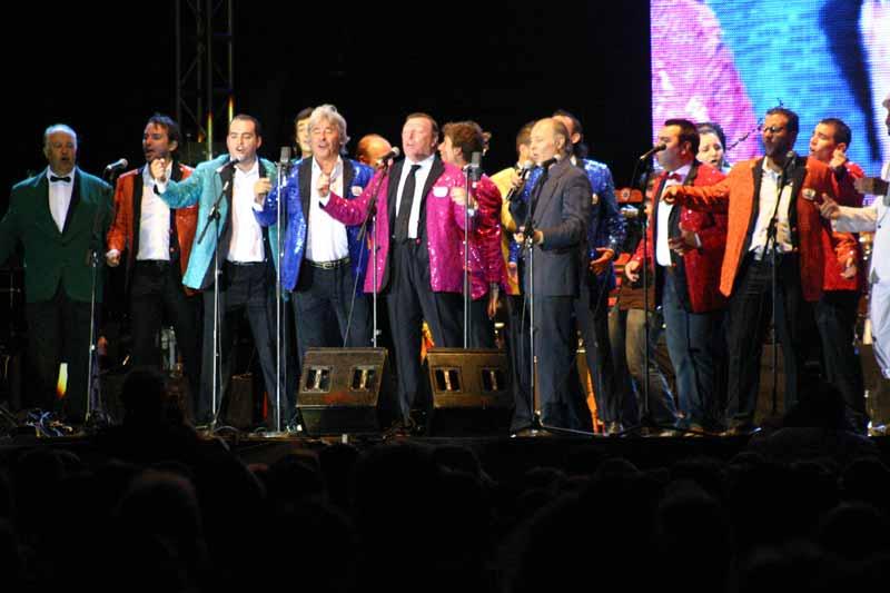 La chirigota 'Los pre-paraos', con la que Soto y otros artistas participaron en Cádiz.