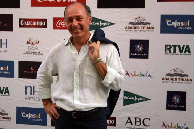 El gran protagonista de la noche, José manuel Soto.
