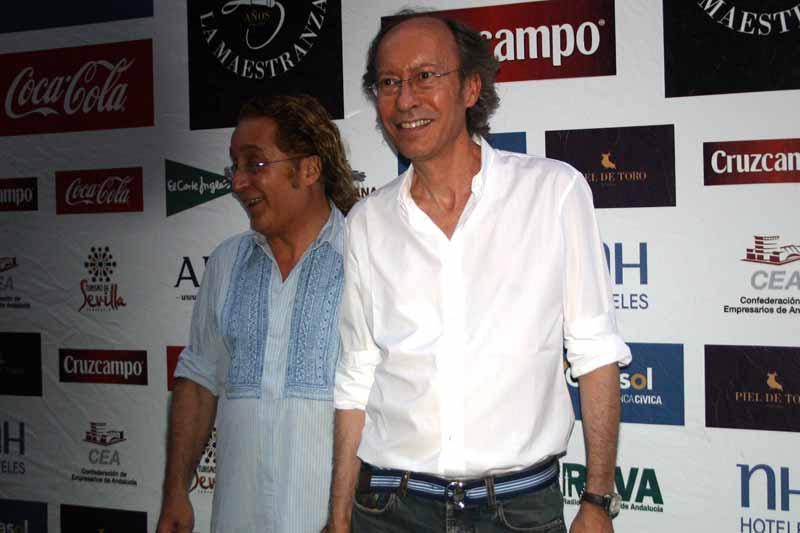 Los conocidos diseñadores sevillanos Vittorio y Lucchino.
