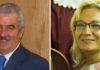 El director general de Espectáculos de la Junta, Luis Partida, y la polémica delegada de la Junta en Sevilla, Carmen Tovar.