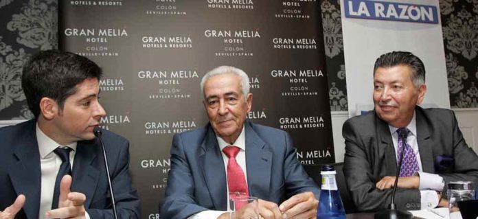 Ramón Vila en el transcurso del encuentro. (FOTO: Manuel Olmedo/La Razón)