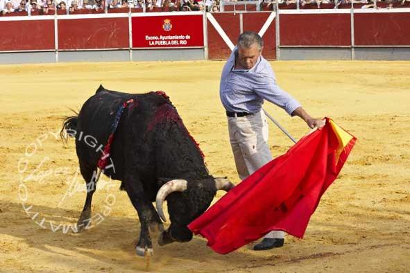 Antonio Ruiz 'Espartaco'.