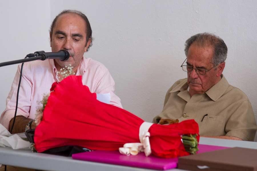 Manuel Viera glosó la vida de Manolo Márquez.