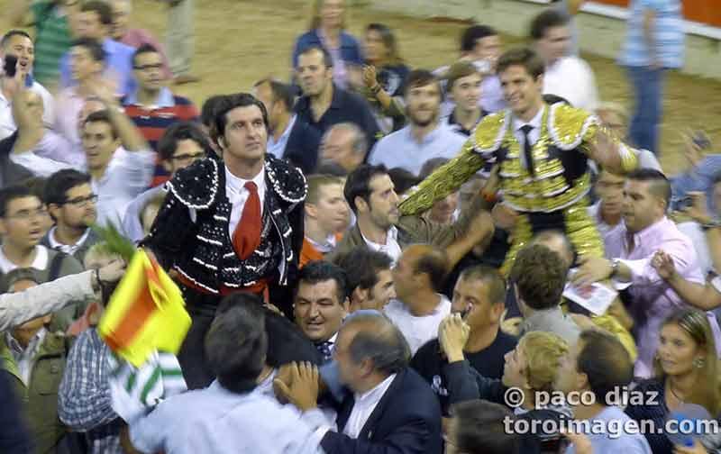 Felicidad de Morante... y los suyos.