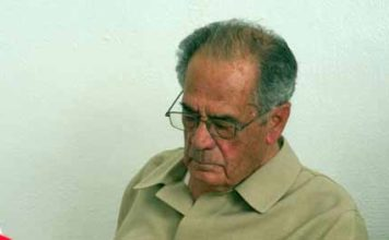 El taurino sevillano Manolo Márquez, durante el homenaje. (FOTO: Paco Díaz/Toroimagen)