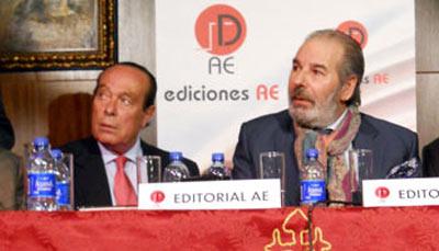 Curro Romero y Rafael de Paula, juntos en un acto reciente.
