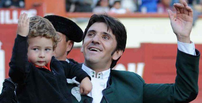 El rejoneador sevillano Diego Ventura.