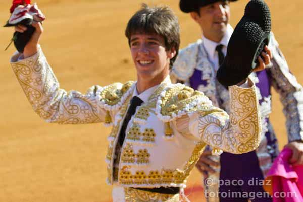 Esaú Fernández. (FOTO: Paco Díaz/Toroimagen)