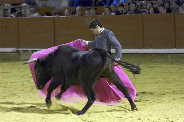 El novillero Juan Moreno.