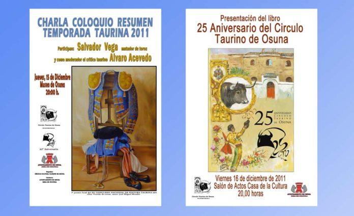 Portada de los actos para esta semana en Osuna.