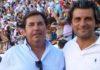 La pareja de apoderados de Oliva Soto para la próxima temporada: José María Almodóvar y Jorge Buendía.