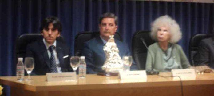 Entrega de la última edición de los premios, a Diego Ventura.