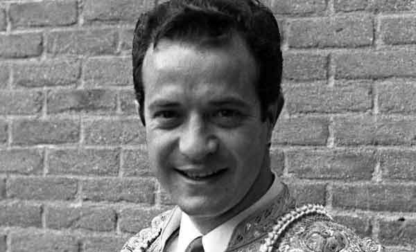 Diego Puerta, en el patio de cuadrillas de Madrid.