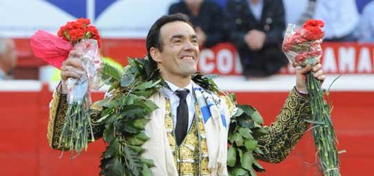 El Cid, triunfando en Colombia el año pasado.