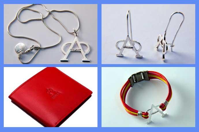 Colgantes, pendientes, carteras y pulseras, entre los productos que se comercializarán bajo la marca 'Miura' en edición limitada.