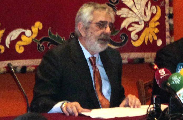 El empresario Eduardo Canorea, en sus explosivas declaraciones contra las figuras. (FOTO: Javier Martínez)