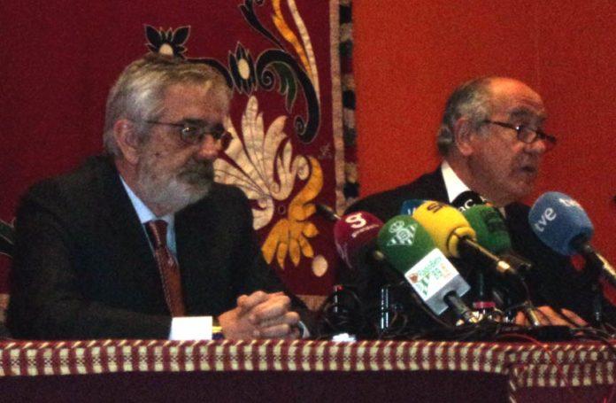 Eduardo Canorea y Ramón Valencia. (FOTO: Javier Martínez)