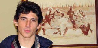 El novillero utrerano Fernando González. (FOTO: Utreraweb)