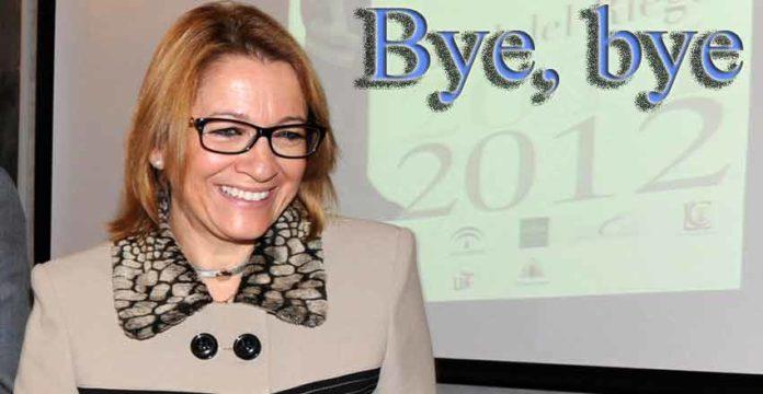 Su propio partido aparta a Carmen Tovar de concurrir a las elecciones autonómicas. Bye, bye.