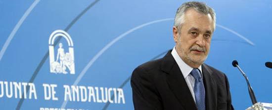 El presidente del Gobierno Andaluz, José Antonio Griñán.