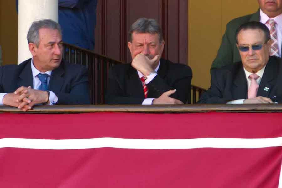 El equipo presidencial.