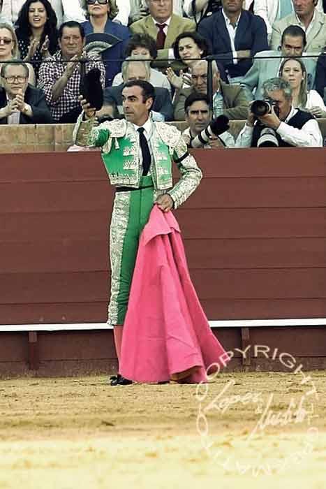 José Manuel 'Alcalareño'.
