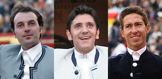 Andy Cartagena, Diego Ventura y Leonardo Hernández.
